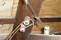 Knob and Tube Wire